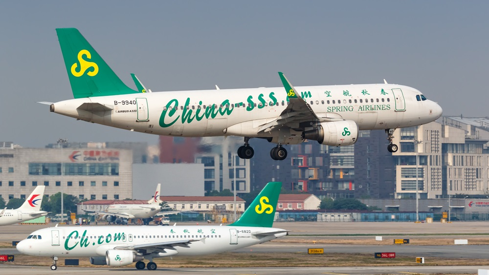 Spring Airlines | © Boarding1now | Dreamstime.com