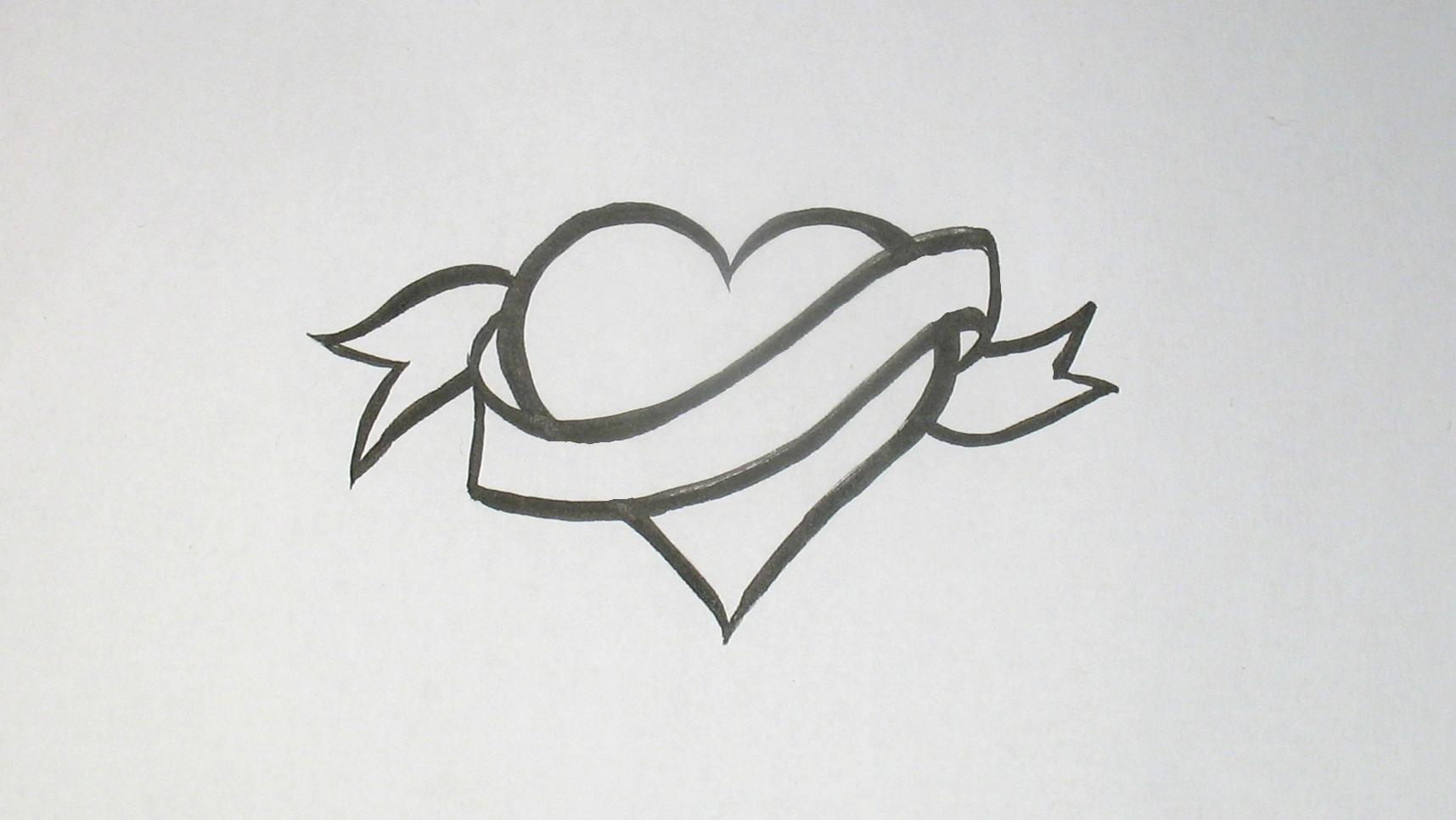 Jak nakreslit srdce