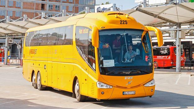 Student Agency: Levné autobusové jízdenky poEvropě od 200Kč