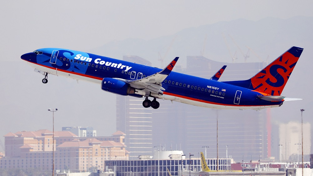 Sun Country Airlines | © Colicaranica | Dreamstime.com