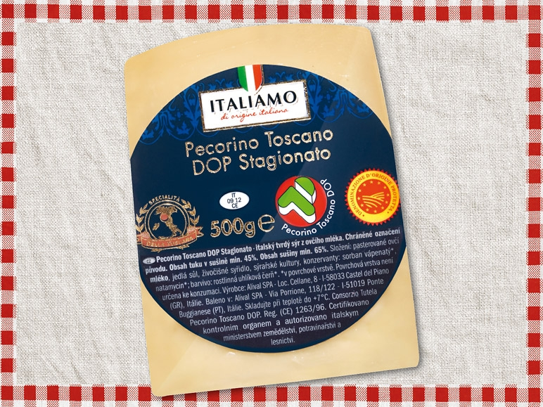 Sýr Italiamo Pecorino Toscano DOP