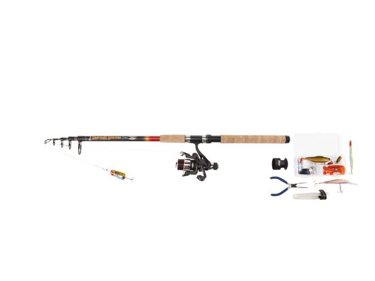 Teleskopický rybářský prut Crivit
