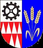 Znak města Hulín