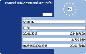 Evropský průkaz zdravotního pojištění: Cestovní pojištění poEU zdarma