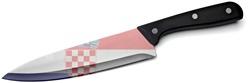 Držení nože v Chorvatsku