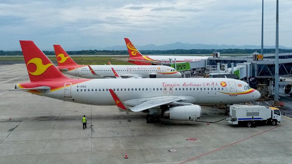 Tianjin Airlines   © Jingmin310   Dreamstime.com