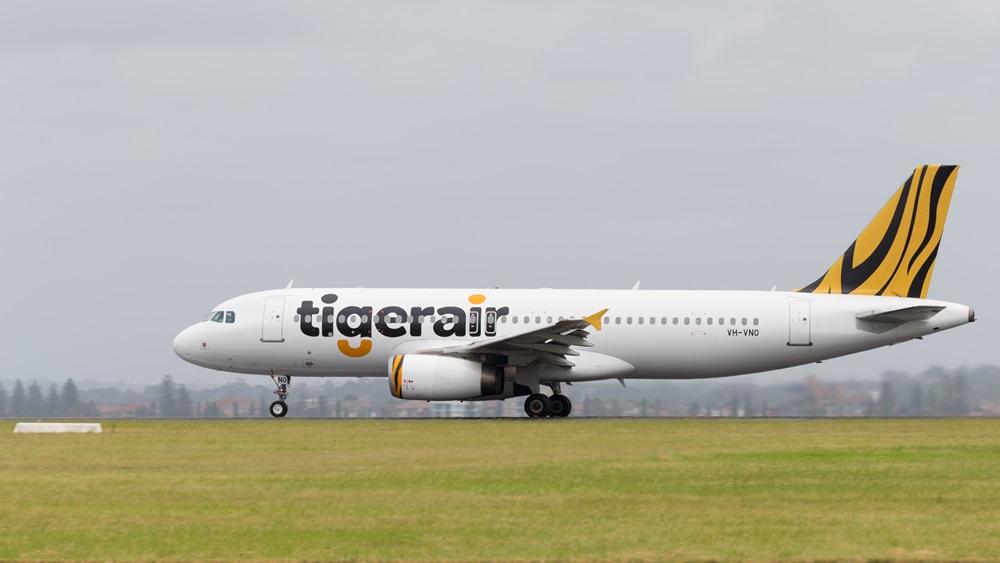 Tiger Airways   © Andreevaee   Dreamstime.com