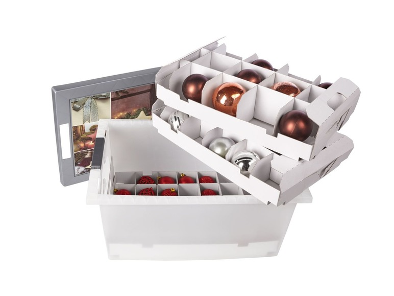 Úložný box na vánoční ozdoby Cassetti