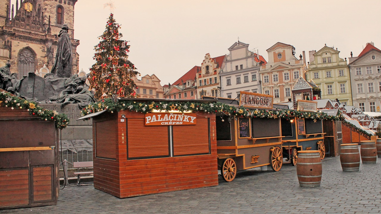 Vánoční trhy 2020: Praha, Brno adalší města, ve kterých se trhy plánují izcela ruší