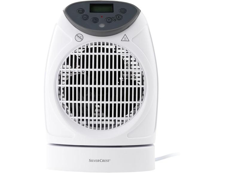 Ventilátor sdálkovým ovládáním Silvercrest SHLF 2000 D1