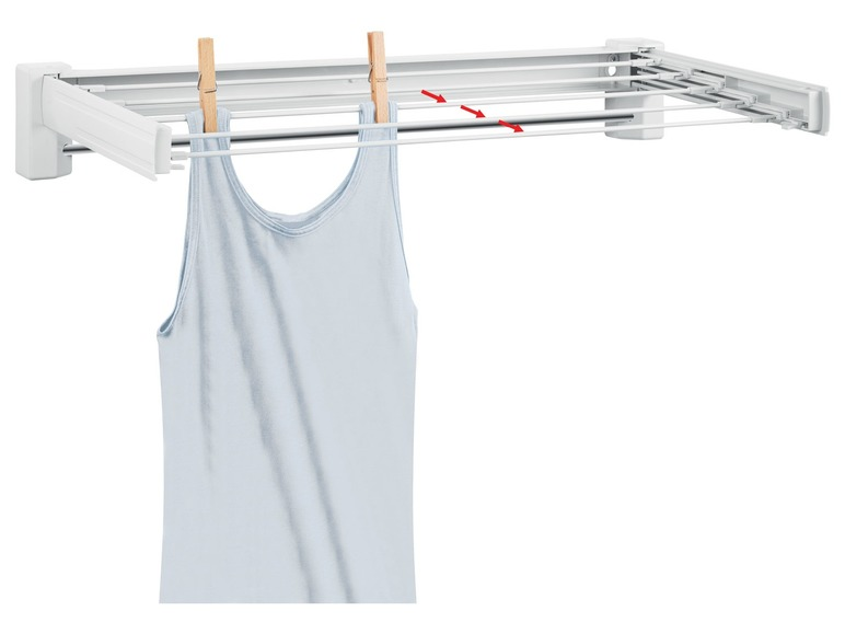 Vytahovací šňůra / sušák na prádlo Aquapur