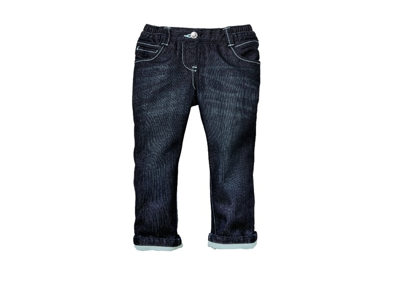 Zateplené dětské džíny Lupilu